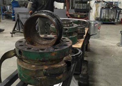 tubing rotator REFURB bench